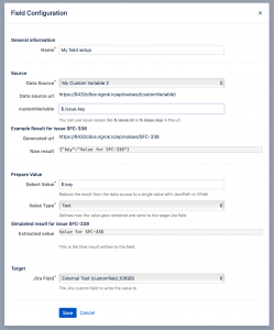 External Data for Jira Fields | codefortynine GmbH