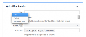 Quick Filters for Jira Dashboards | codefortynine GmbH