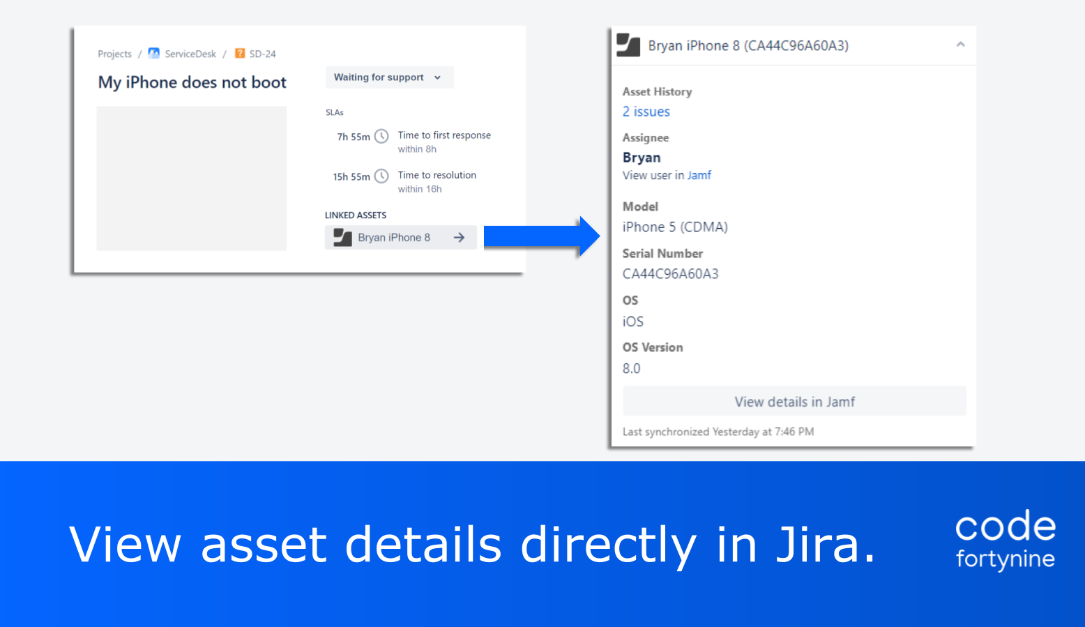 Highlight 2 Jamf for Jira