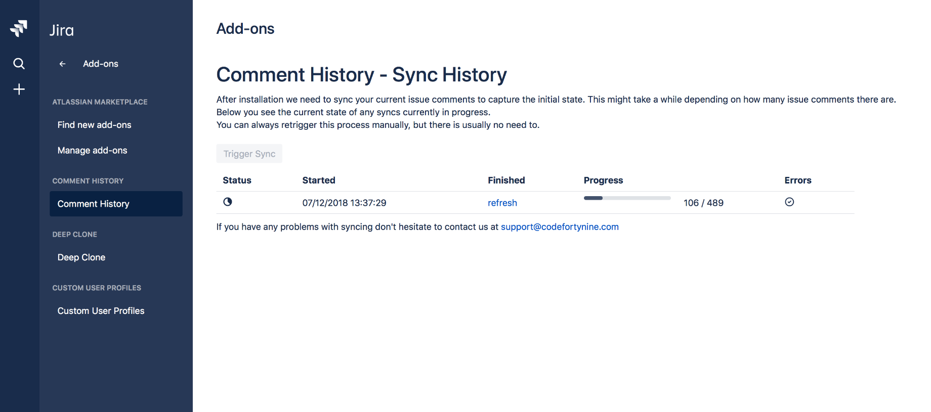 Highlight 3 Comment History Log for Jira